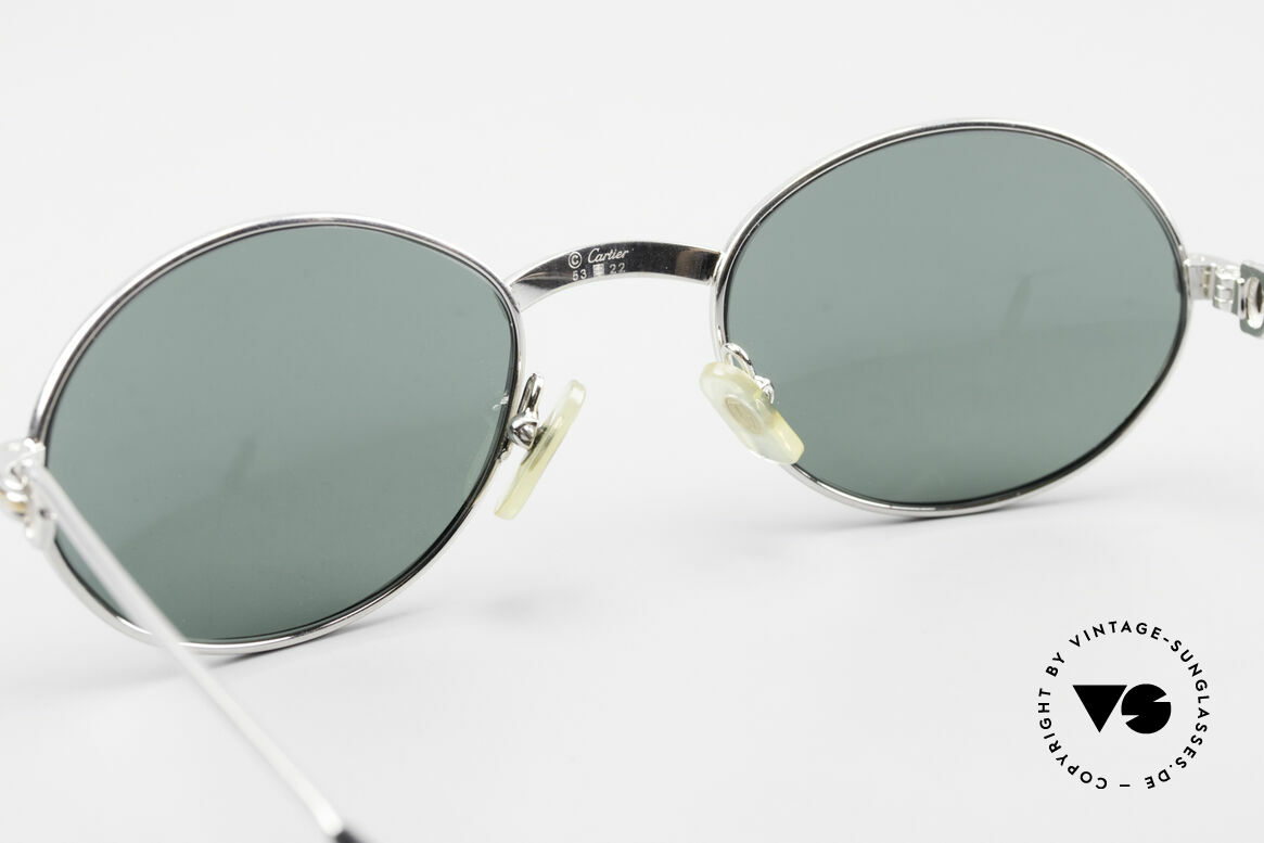 Cartier Saint Honore Oval Luxury Sunglasses 90's, Size: medium, Made for Men