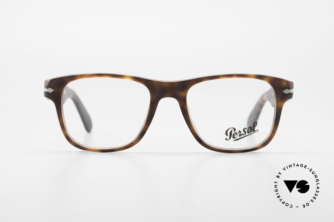 Persol 3051 Timeless Designer Eyeglasses, the current collection based on the old Persol RATTIS, Made for Men and Women