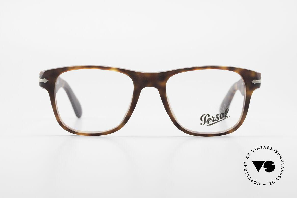 Persol 3051 Timeless Designer Eyeglasses, Persol 3051: current designer eyeglass-frame by Persol, Made for Men and Women