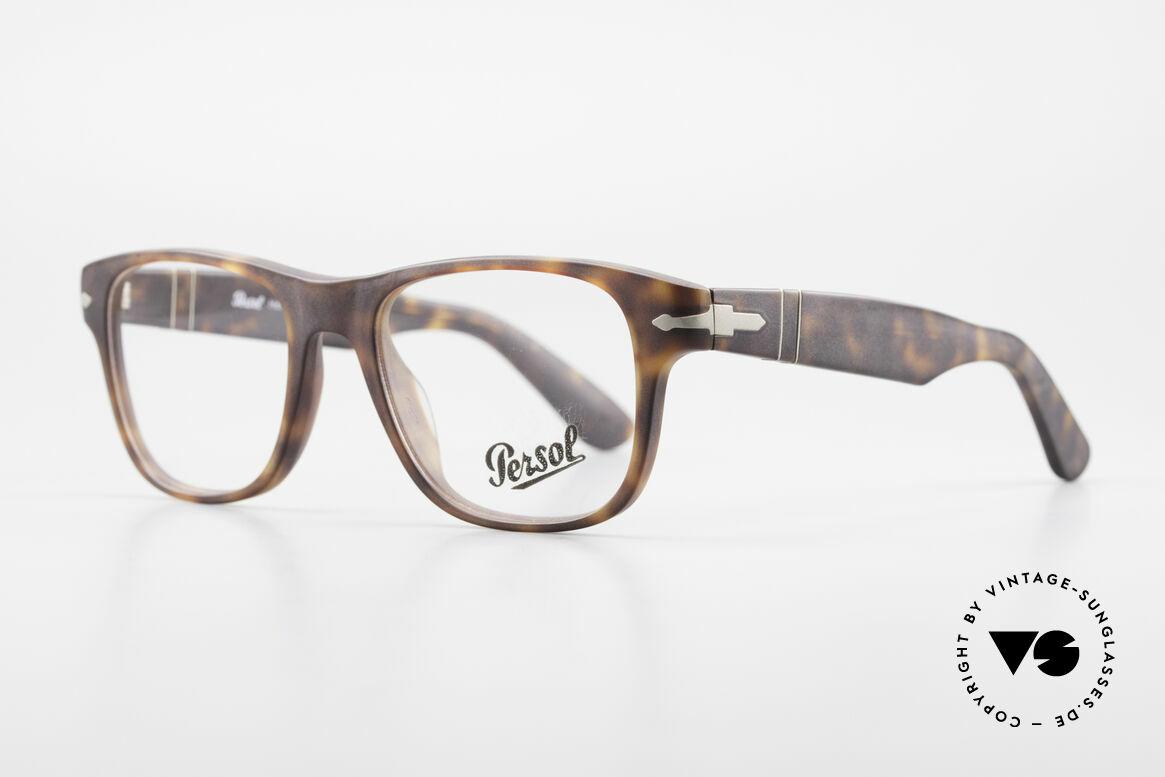 Persol 3051 Timeless Designer Eyeglasses, Steve McQueen made Persol RATTI models world-famous, Made for Men and Women