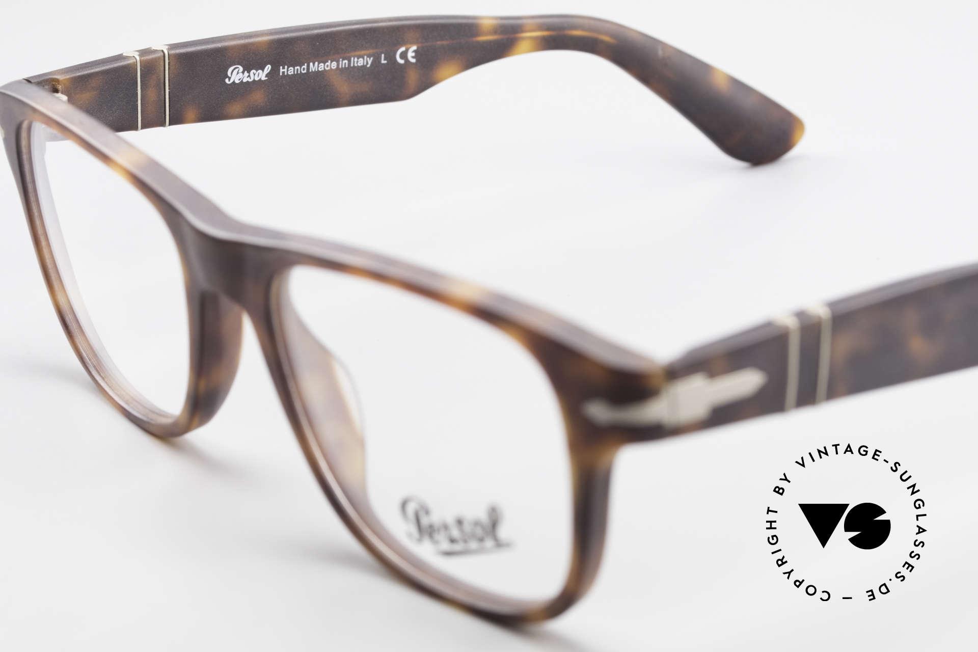 Persol 3051 Timeless Designer Eyeglasses, Size: medium, Made for Men and Women