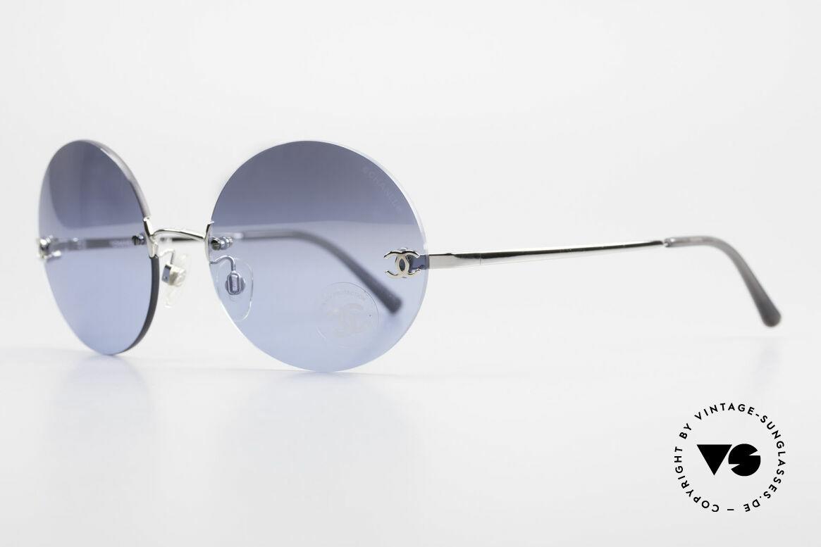Chanel 4056 Round Luxury Shades Rimless