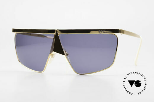 Casanova FC10 Noseguard Sunglasses 24kt Details