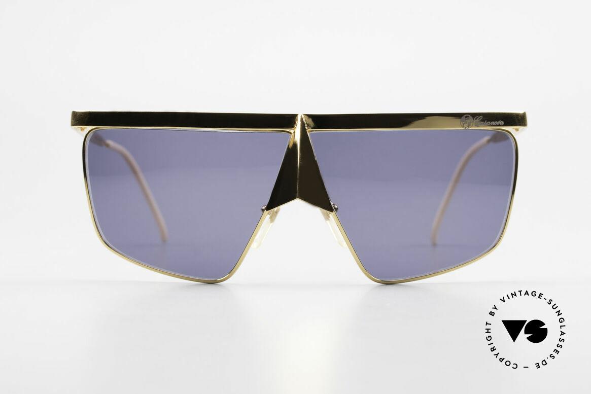 Casanova FC10 Noseguard Sunglasses 24kt, distinctive Venetian design in style of the 18th century, Made for Men and Women