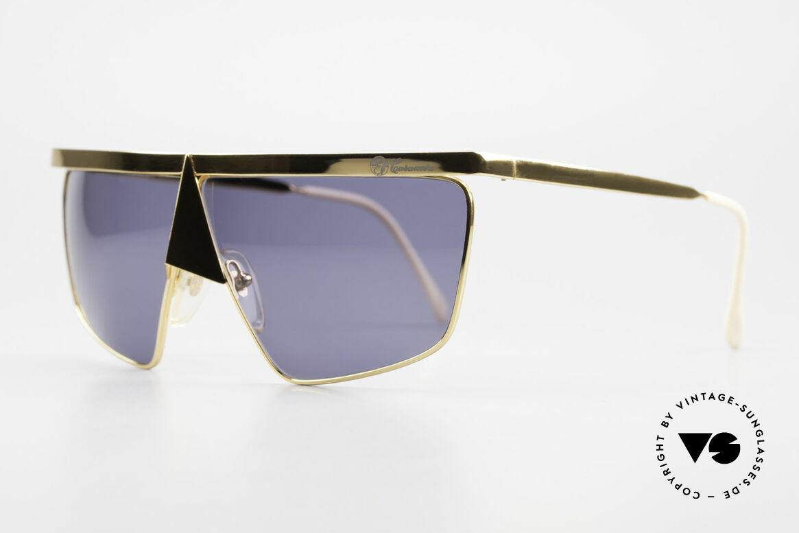 Casanova FC10 Noseguard Sunglasses 24kt, design represents the exuberance of the Ven. carnival, Made for Men and Women