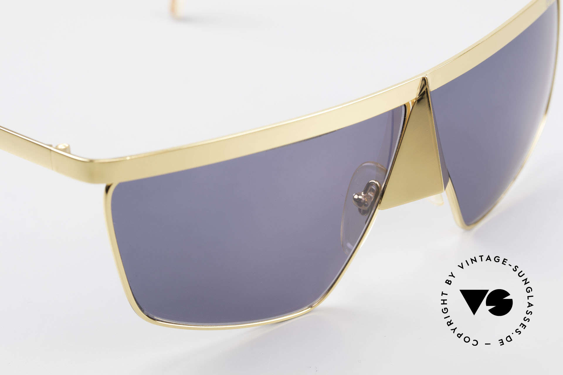 Casanova FC10 Noseguard Sunglasses 24kt, meanwhile, a collector's item, worldwide (Gold Plated), Made for Men and Women