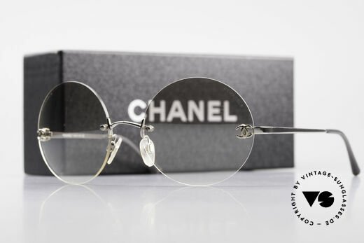 Chanel 4056 Round Luxury Sunglasses 90's, Size: medium, Made for Men and Women