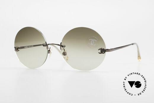 Chanel 4056 Round 90's Luxury Sunglasses Details