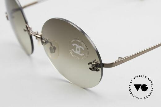 Chanel 4056 Round 90's Luxury Sunglasses
