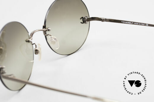 Chanel 4056 Round 90's Luxury Sunglasses, NO RETRO fashion; an old vintage ORIGINAL from 1999, Made for Men and Women