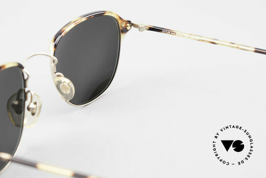Cutler And Gross 0373 90's Panto Designer Sunglasses, NO RETRO fashion, but a unique 20 years old ORIGINAL, Made for Men and Women