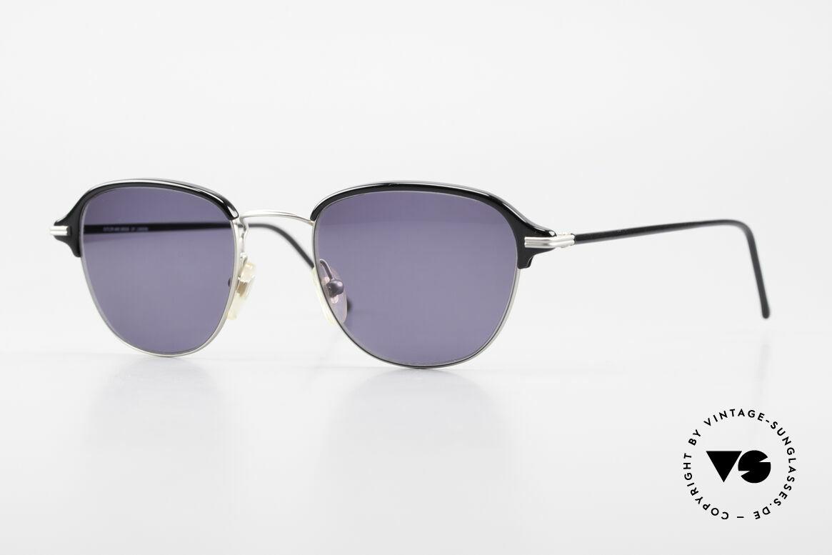 Cutler And Gross 0373 Panto 90's Designer Sunglasses, CUTLER and GROSS designer shades from the late 90's, Made for Men and Women