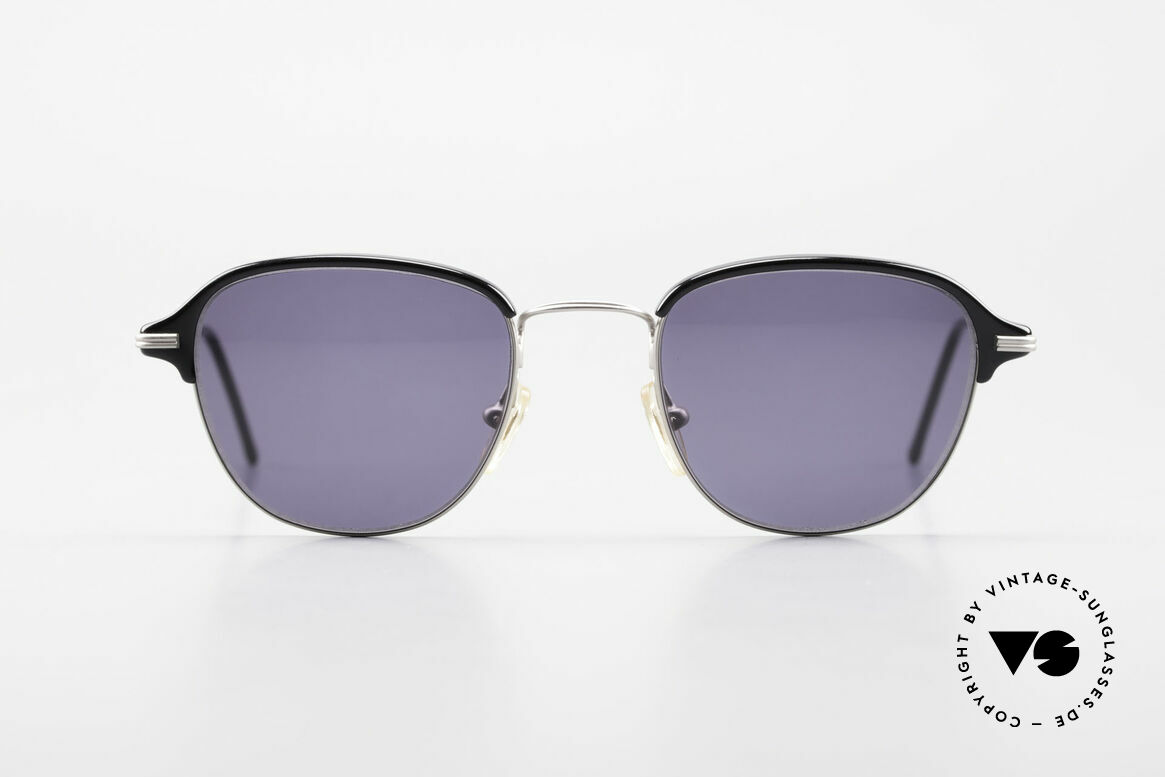 Cutler And Gross 0373 Panto 90's Designer Sunglasses, classic, timeless UNDERSTATEMENT luxury sunglasses, Made for Men and Women