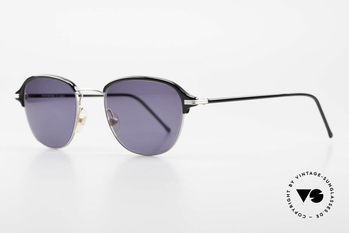 Cutler And Gross 0373 Panto 90's Designer Sunglasses, stylish & distinctive in absence of an ostentatious logo, Made for Men and Women