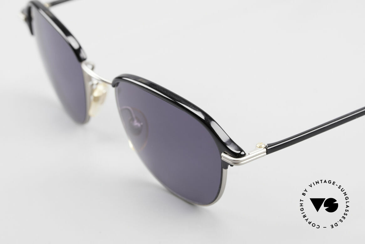 Cutler And Gross 0373 Panto 90's Designer Sunglasses, plain design, but materials & craftsmanship on top level, Made for Men and Women
