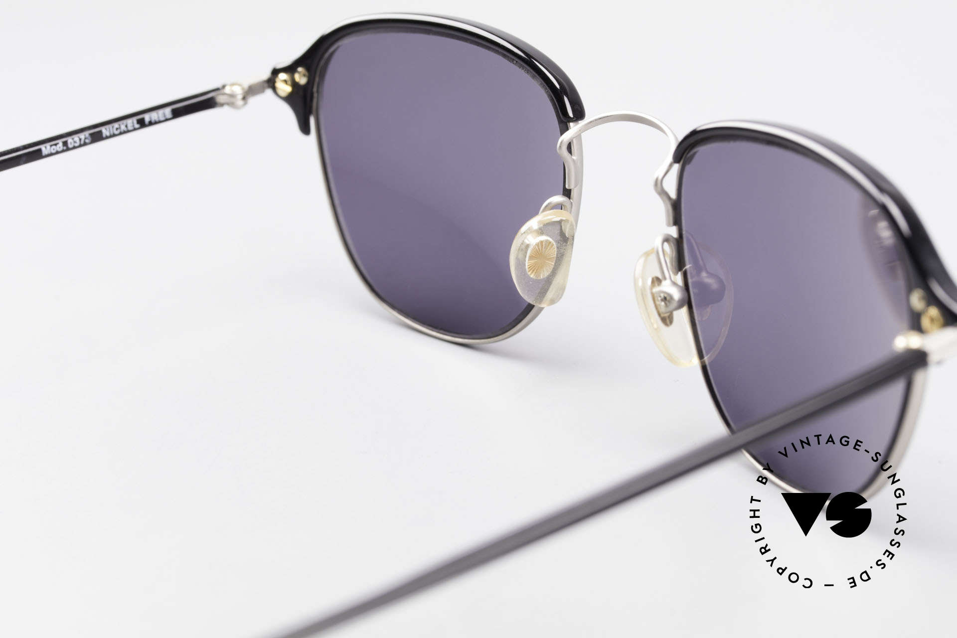 Cutler And Gross 0373 Panto 90's Designer Sunglasses, NO RETRO fashion, but a unique 20 years old ORIGINAL, Made for Men and Women