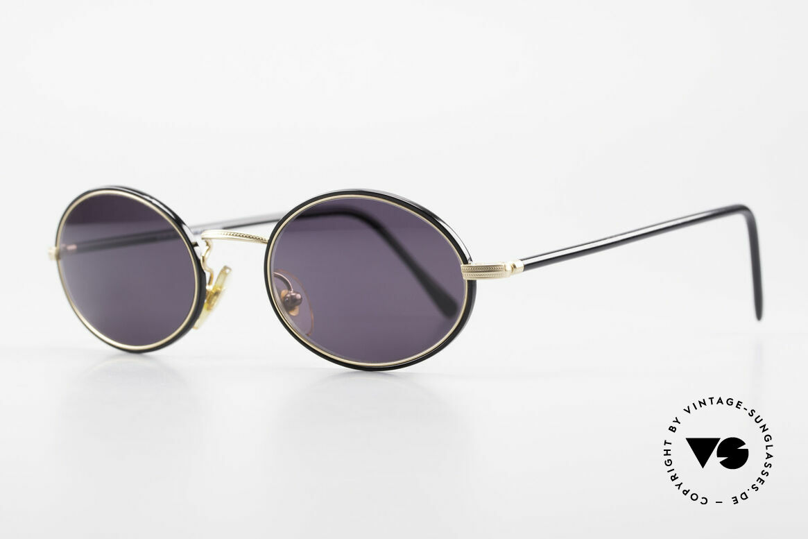 Cutler And Gross 0350 90's Oval Vintage Sunglasses