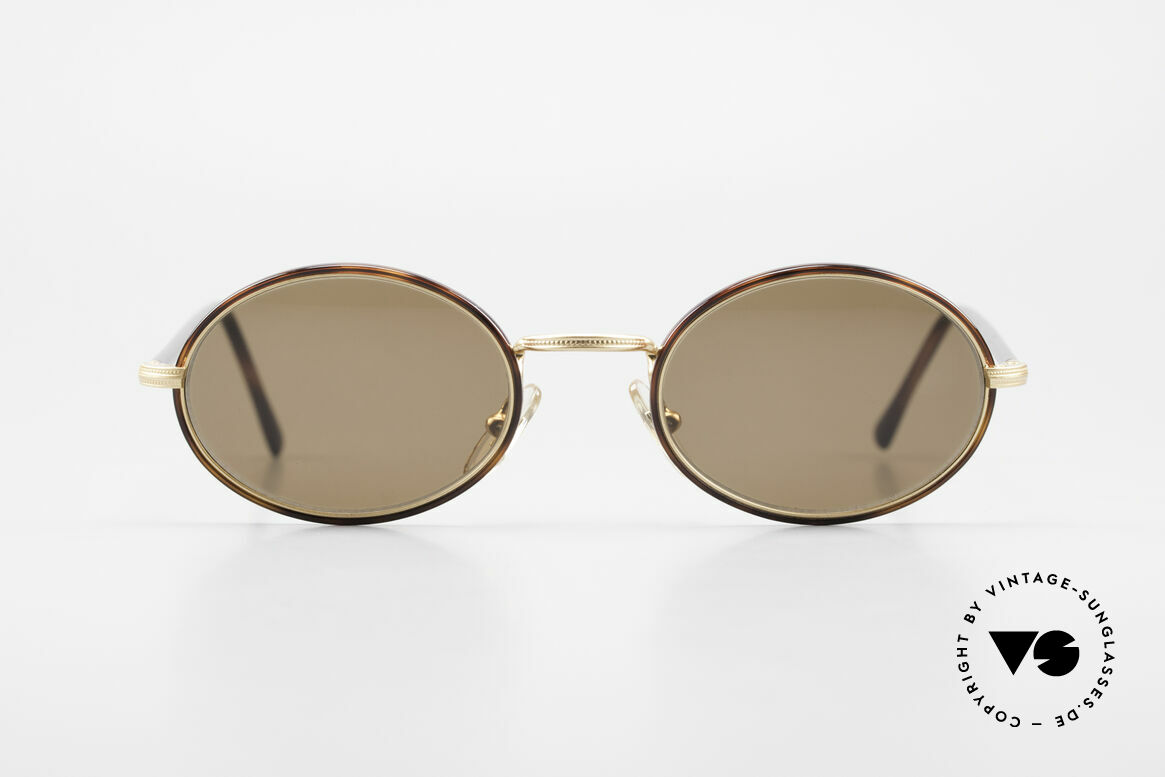 Cutler And Gross 0350 Oval Vintage Sunglasses 90's, classic, timeless UNDERSTATEMENT luxury sunglasses, Made for Men and Women