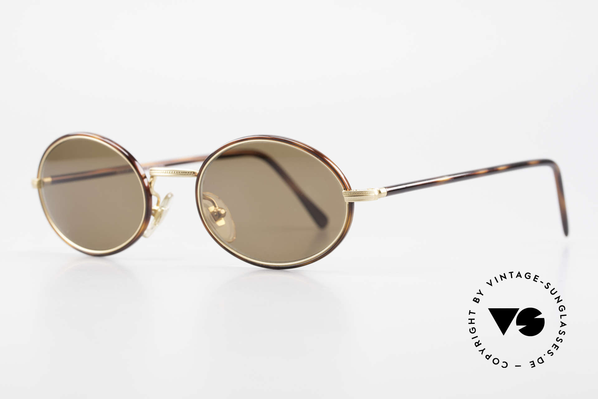 Cutler And Gross 0350 Oval Vintage Sunglasses 90's, stylish & distinctive in absence of an ostentatious logo, Made for Men and Women