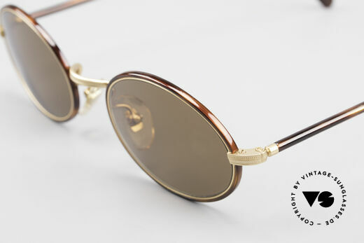 Cutler And Gross 0350 Oval Vintage Sunglasses 90's