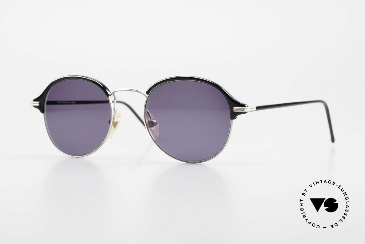 Cutler And Gross 0374 Panto Frame Windsor Rings, CUTLER and GROSS designer shades from the late 90's, Made for Men and Women