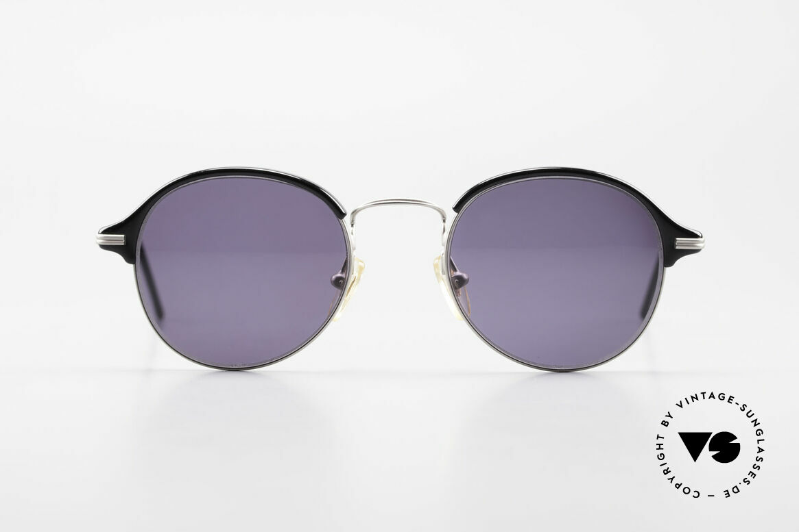 Cutler And Gross 0374 Panto Frame Windsor Rings, classic, timeless UNDERSTATEMENT luxury sunglasses, Made for Men and Women