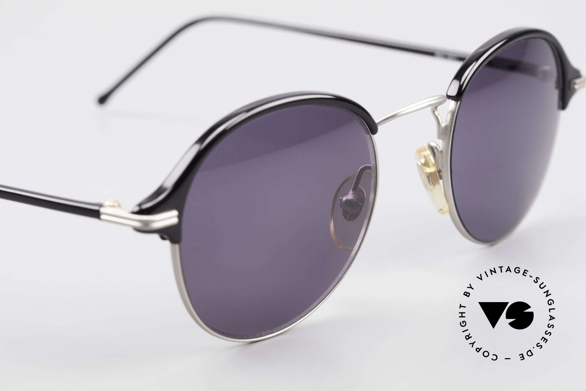 Cutler And Gross 0374 Panto Frame Windsor Rings, never worn; like all our vintage Cutler & Gross eyewear, Made for Men and Women