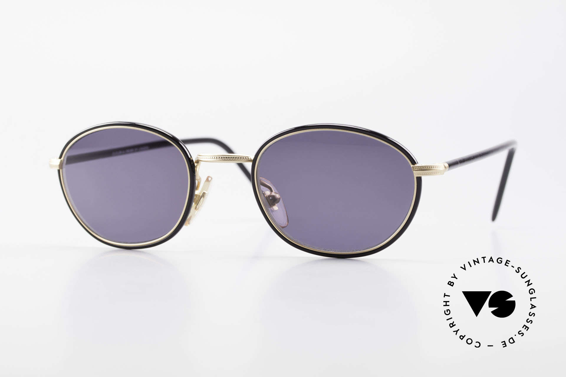 Cutler And Gross 0394 Classic Vintage Sunglasses, CUTLER and GROSS designer shades from the late 90's, Made for Men and Women