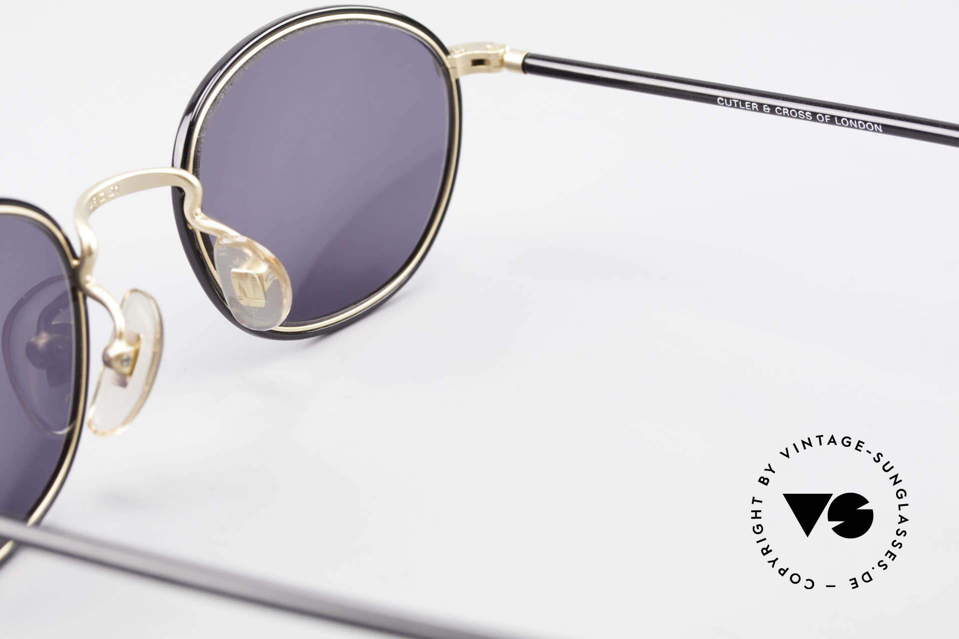 Cutler And Gross 0394 Classic Vintage Sunglasses, NO RETRO fashion, but a unique 20 years old ORIGINAL, Made for Men and Women