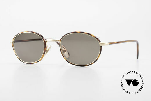 Cutler And Gross 0394 Classic Vintage Sunglasses 90s Details