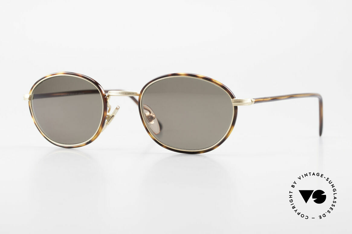 Cutler And Gross 0394 Classic Vintage Sunglasses 90s, CUTLER and GROSS designer shades from the late 90's, Made for Men and Women