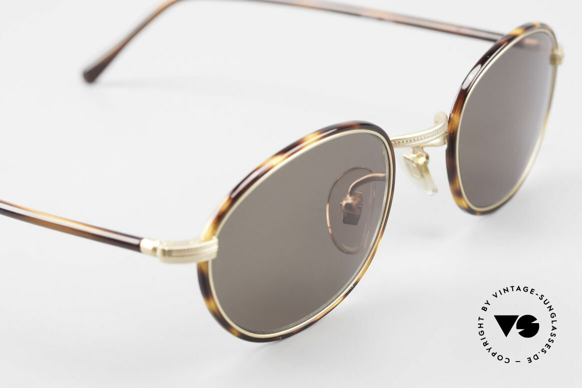 Cutler And Gross 0394 Classic Vintage Sunglasses 90s
