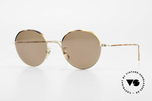 Cutler And Gross 0391 Round Shades Windsor Rings Details