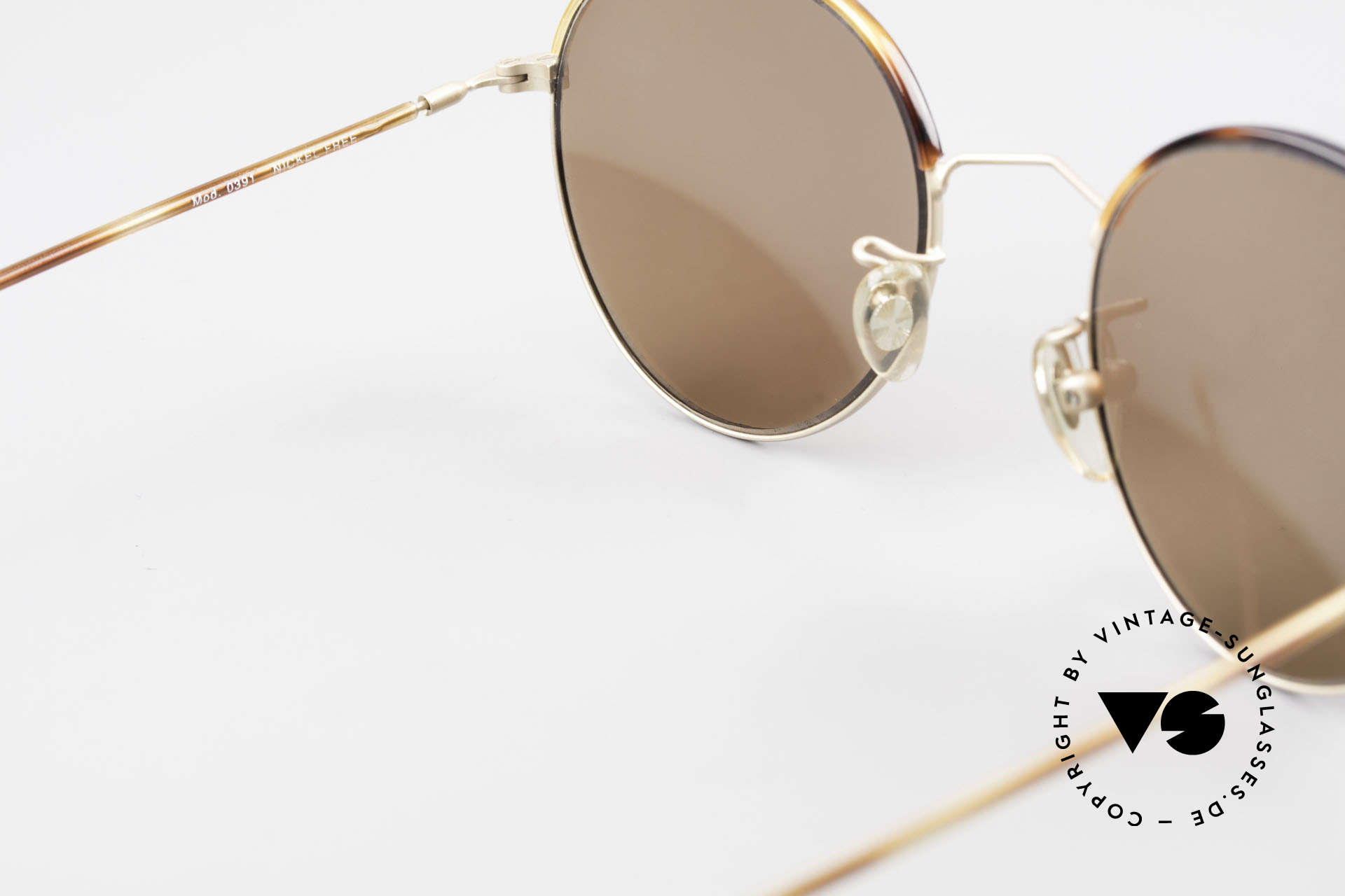 Cutler And Gross 0391 Round Shades Windsor Rings, NO RETRO fashion, but a unique 20 years old ORIGINAL, Made for Men and Women