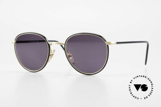 Cutler And Gross 0352 Vintage Panto Sunglasses 90s Details