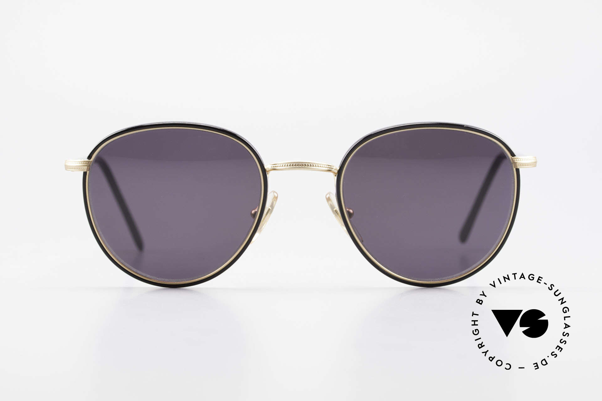 Cutler And Gross 0352 Vintage Panto Sunglasses 90s, classic, timeless UNDERSTATEMENT luxury sunglasses, Made for Men and Women