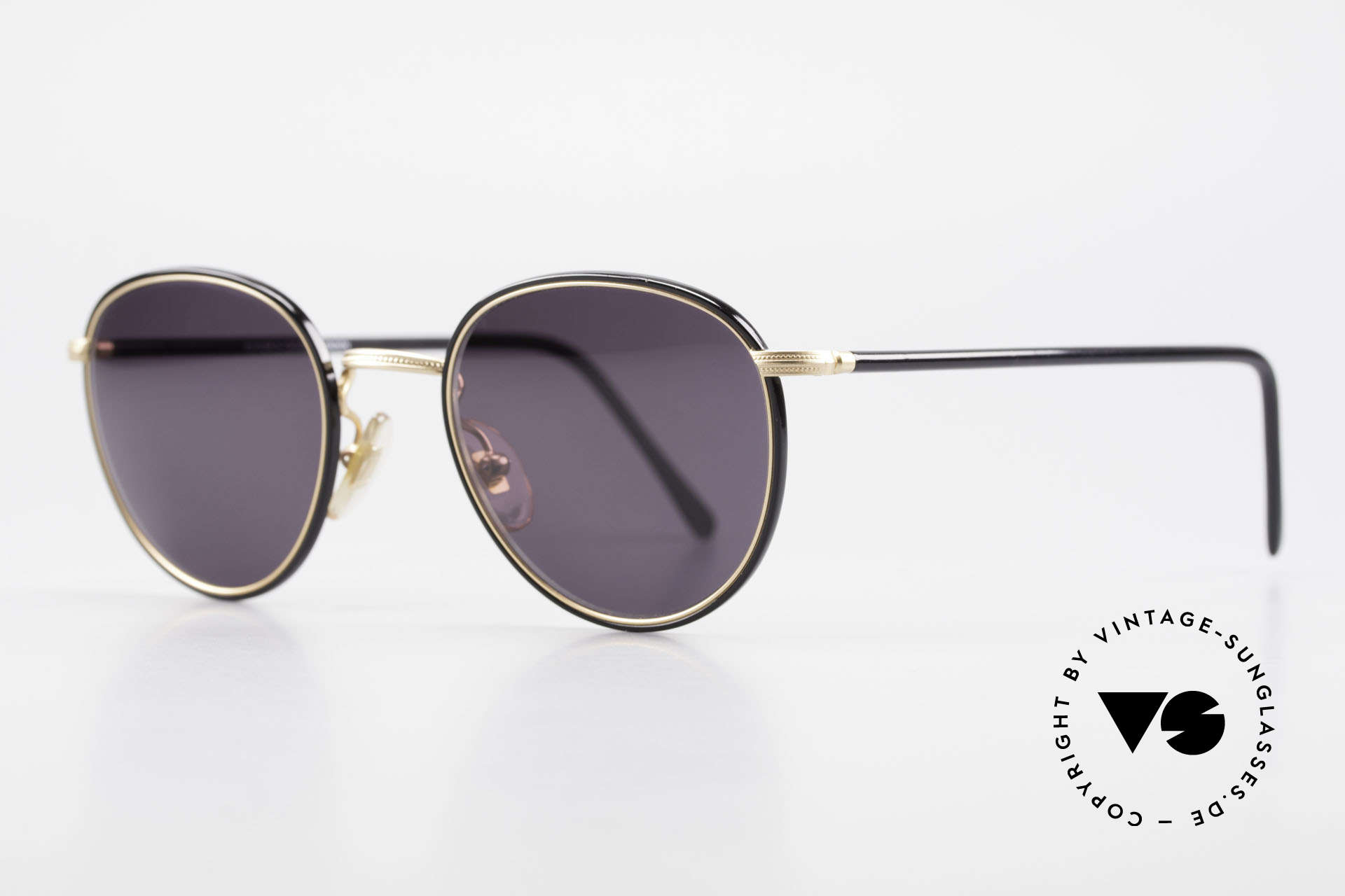 Cutler And Gross 0352 Vintage Panto Sunglasses 90s, stylish & distinctive in absence of an ostentatious logo, Made for Men and Women