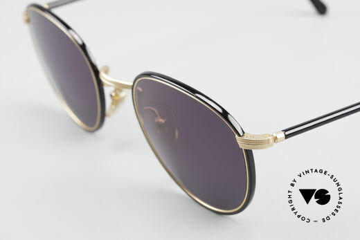 Cutler And Gross 0352 Vintage Panto Sunglasses 90s