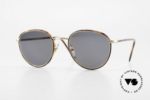Cutler And Gross 0352 Panto Vintage Sunglasses 90s Details