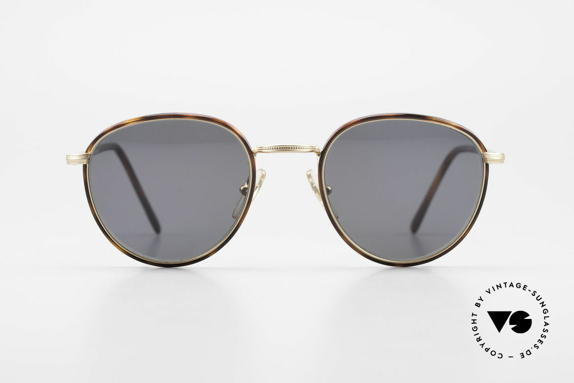 Cutler And Gross 0352 Panto Vintage Sunglasses 90s, classic, timeless UNDERSTATEMENT luxury sunglasses, Made for Men and Women