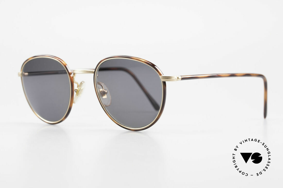 Cutler And Gross 0352 Panto Vintage Sunglasses 90s, stylish & distinctive in absence of an ostentatious logo, Made for Men and Women