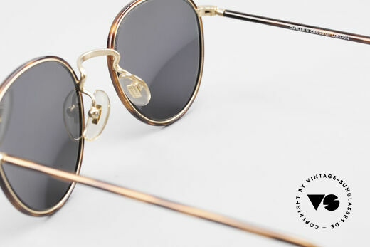 Cutler And Gross 0352 Panto Vintage Sunglasses 90s, NO RETRO fashion, but a unique 20 years old ORIGINAL, Made for Men and Women