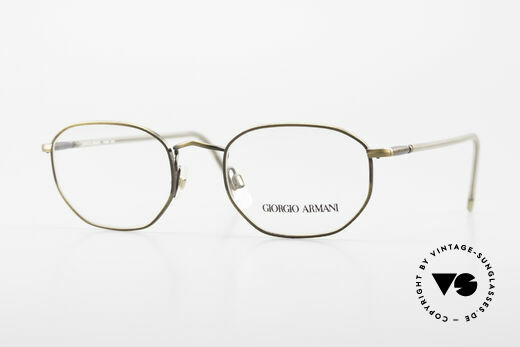 Giorgio Armani 187 Classic Men's Eyeglasses 90's Details