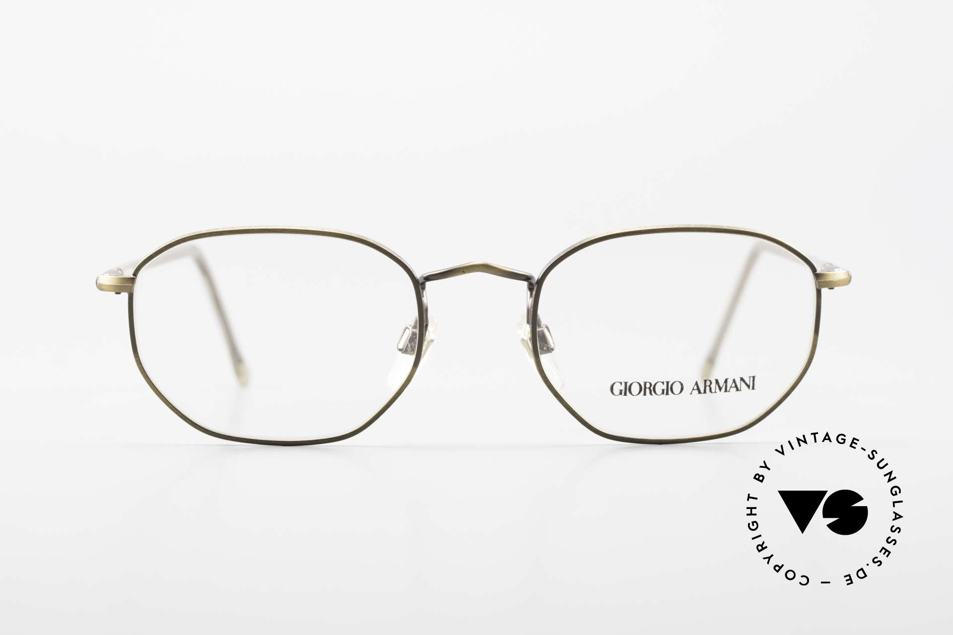 Giorgio Armani 187 Classic Men's Eyeglasses 90's, classic gentlemen's frame (rather a SMALL size 50/19), Made for Men