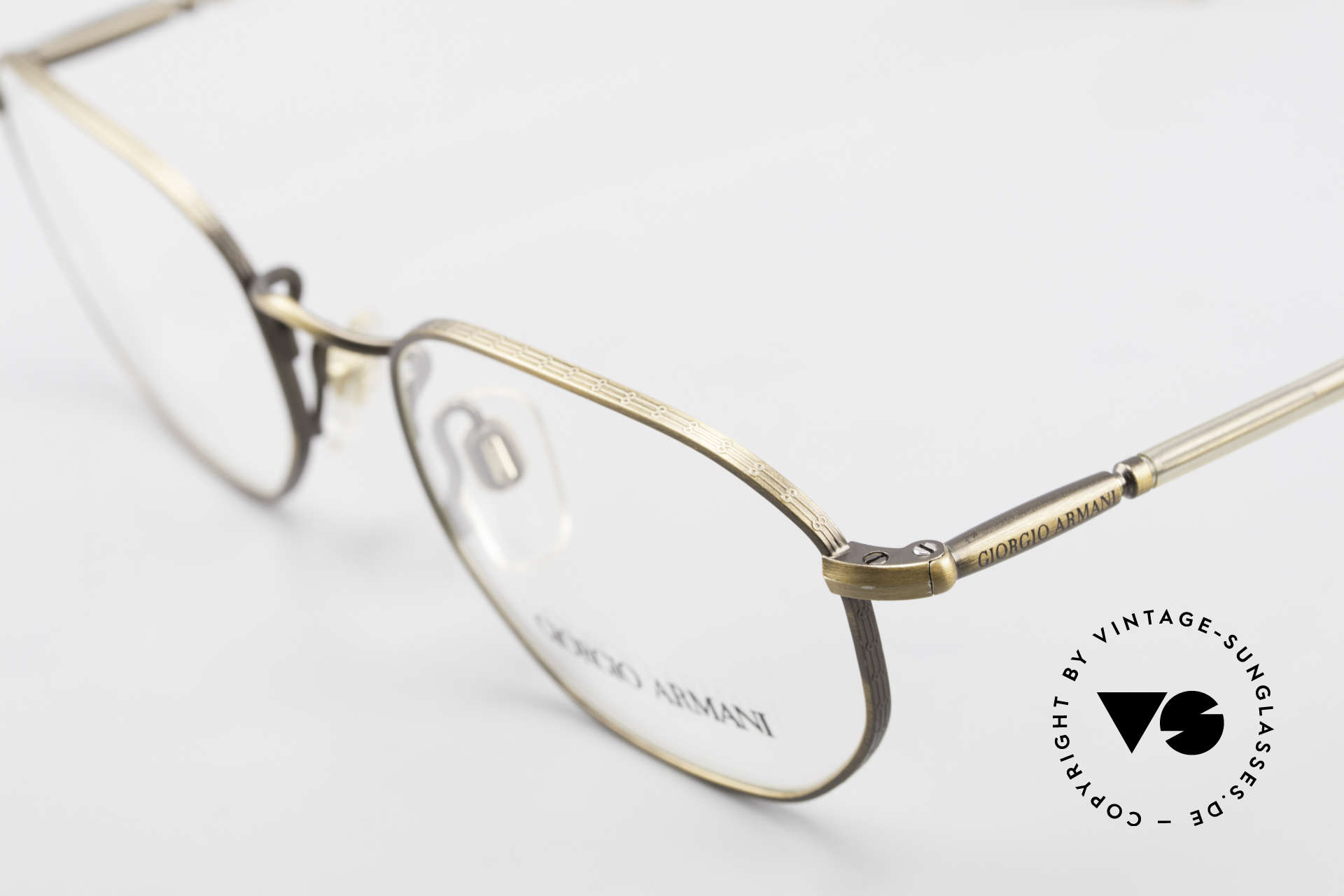 Giorgio Armani 187 Classic Men's Eyeglasses 90's, never worn (like all our vintage Giorgio Armani specs), Made for Men