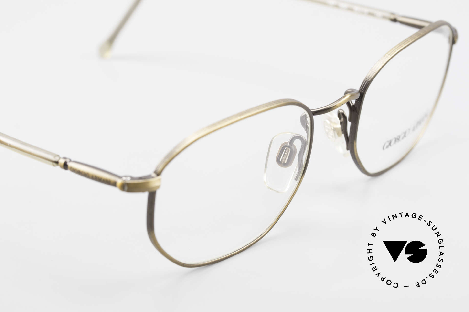 Giorgio Armani 187 Classic Men's Eyeglasses 90's, NO RETRO eyewear, but a unique 25 years old original!, Made for Men