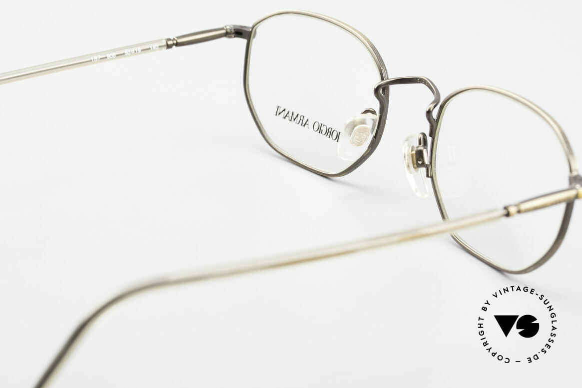 Giorgio Armani 187 Classic Men's Eyeglasses 90's