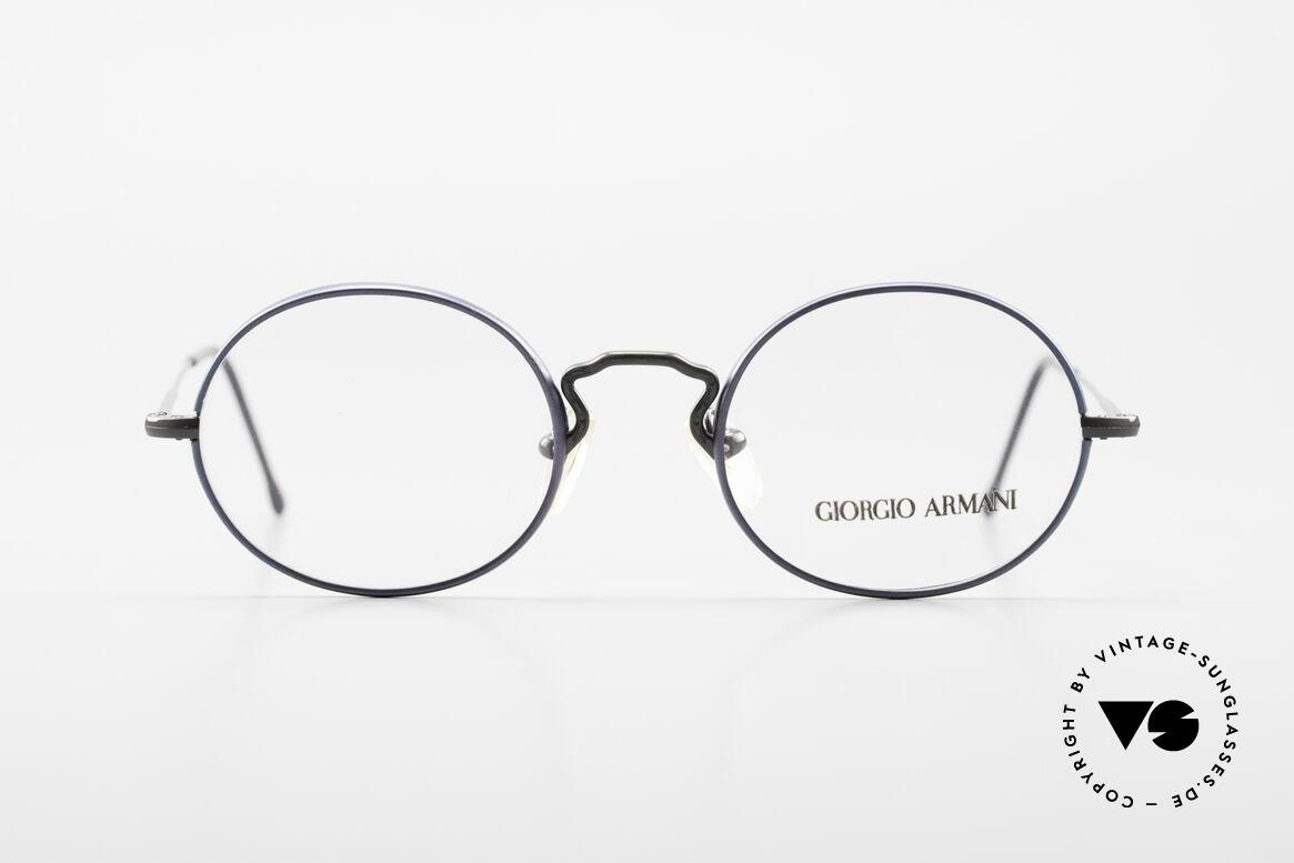 Giorgio Armani 247 No Retro Eyeglasses 90's Oval, small oval-round frame design' - a timeless classic!, Made for Men and Women
