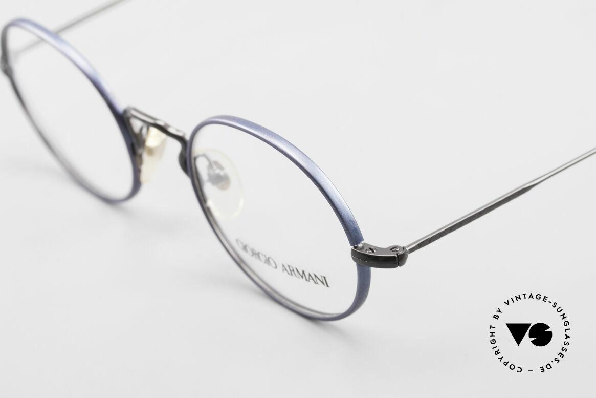 Giorgio Armani 247 No Retro Eyeglasses 90's Oval, unworn rarity (like all our rare vintage GA eyewear), Made for Men and Women