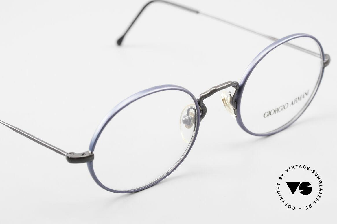 Giorgio Armani 247 No Retro Eyeglasses 90's Oval, NO RETRO SPECS, but an app. 25 years old Original, Made for Men and Women
